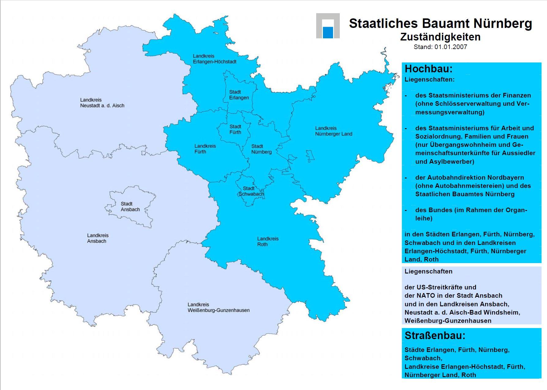 Landkreise Mittelfranken Karte.Aufgaben